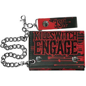 Killswitch Engage Men's Zombie Tri-Fold Wallet Black
