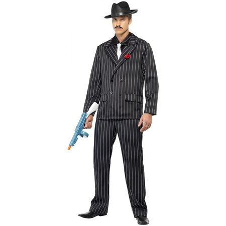 3 Piece Zoot Suit - Zoot Suit Adult Costume - Medium