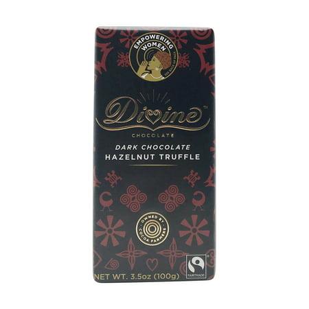 Dark Chocolate Hazelnut Truffle Bar, 3.5 oz
