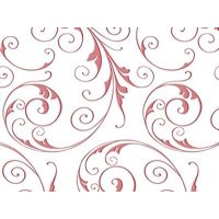 """1 Unit Jewel Swirl Frosted Red 4x2x9"""" Cello Bags 1.2 mil Unit pack 100"""