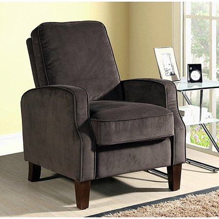 camden microsuede pushback recliner multiple colors