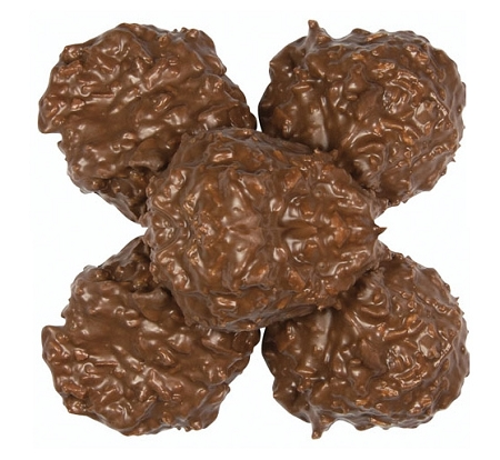 Asher's Sugar Free Milk Chocolate Coconut Clusters, 5 Pounds by