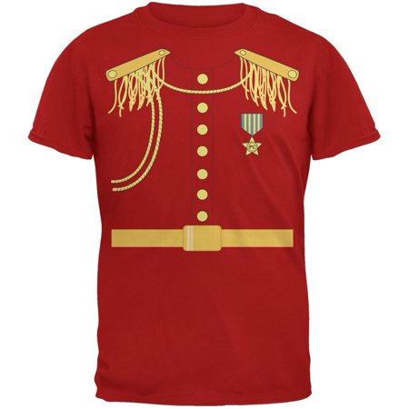 Prince Charming Costume Red Adult T-Shirt - Adult Prince Charming