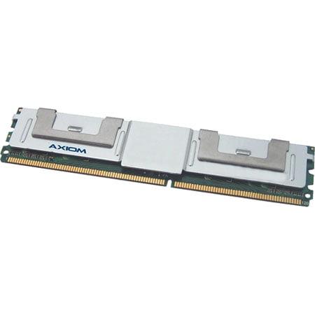 """Axion AXG18691394/2 Axiom PC2-6400 FBDIMM 800MHz 4GB FBDIMM Kit (2 x 2GB) TAA Compliant - 4 GB (2 x 2 GB) - DDR2 SDRAM - 800 MHz DDR2-800/PC2-6400 - ECC - Fully Buffered - 240-pin"