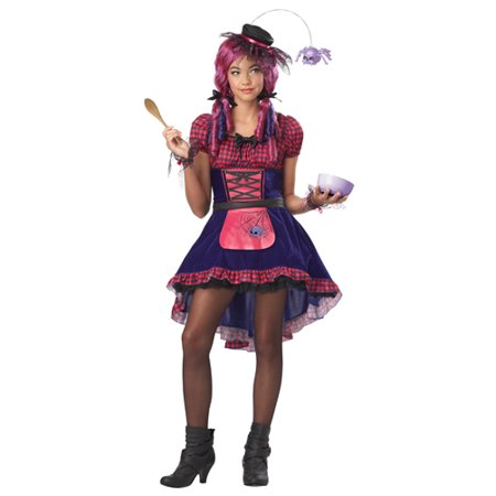 Girls Along Came A Spider Costume Tween size Large (Tween Costumes)