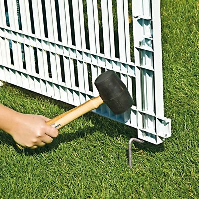 Resin Fence White Gvf3232