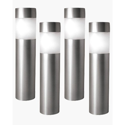 Paradise Garden Lighting Solar 1 Light Bollard Light (Set Of 4)