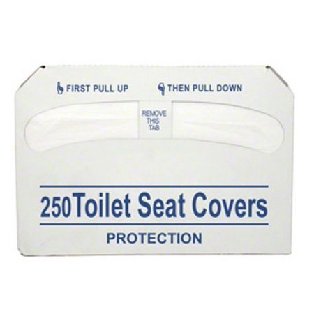 Toilet Seat Covers Half Fold 250 Pcs Set Of 3 Bags