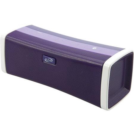 iLive ISB394PR Bluetooth Speaker with USB Port, Purple