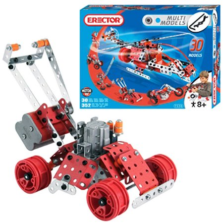 erector multi model construction set instructions