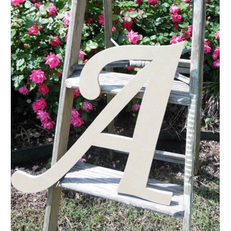 Custom Wooden Letter, 6'' Monotype A, Wall Letters Unpainted Craft Decorative Wooden Wall Letters
