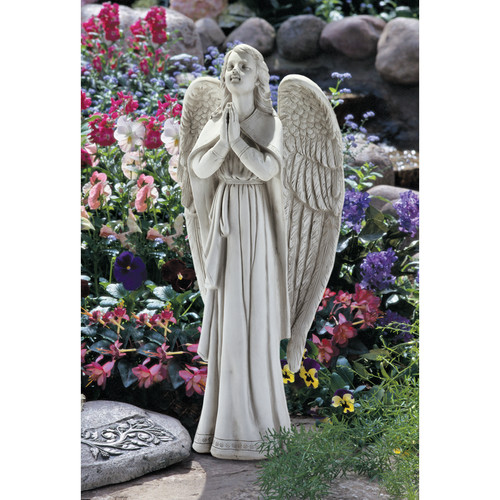 Toscano Divine Guidance Praying Angel Large  100208065