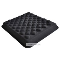 Tektrum Thick Cool Gel Orthopedic Seat Cushion with Massage Convexes for Wheelchair, Office, Home, Car – Relief for Sciatica, Coccyx, Back Pain, Tailbone  and Postoperative Pain (TD-GS1202-BLK)