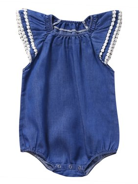 Baby Rompers & One-pieces - Walmart com