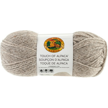 - Lion Brand Touch Of Alpaca Yarn-Taupe