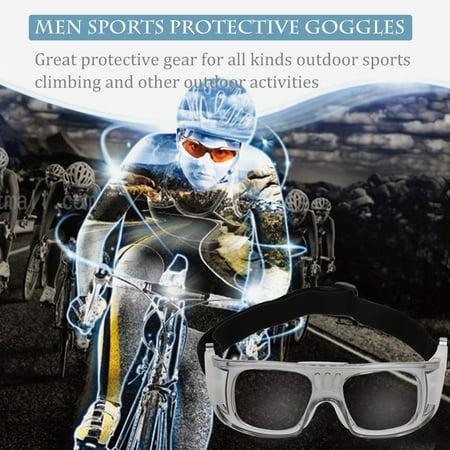 c270102820c Men Outdoor Sports Basketball Football Soccer Protective Goggles Eyeglasses