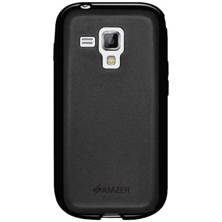 AMZER PUDDING TPU SKIN FIT BACK CASE COVER FOR SAMSUNG GALAXY S DUOS 2