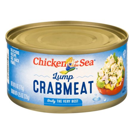Chicken Of The Sea Lump Crab, 6 oz