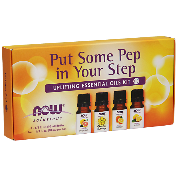 NOW Put Some Pep In Your Step Eo Uplifting Kit