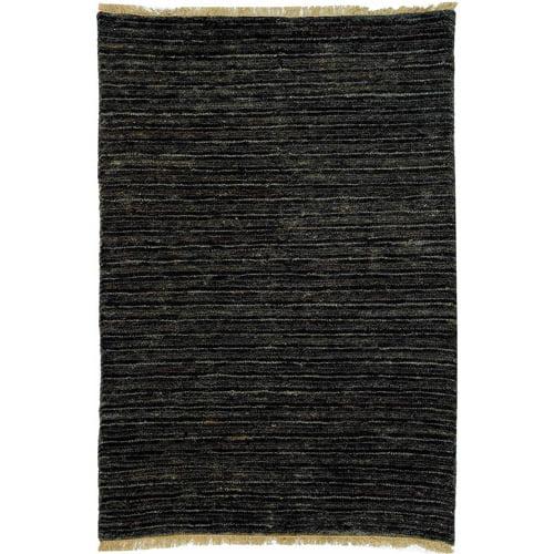 Safavieh Organic Eldon Hand Knotted Jute Area Rug, Charcoal