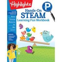 Highlights Learning Fun Workbooks: Preschool Hands-On Steam Learning Fun Workbook (Paperback)