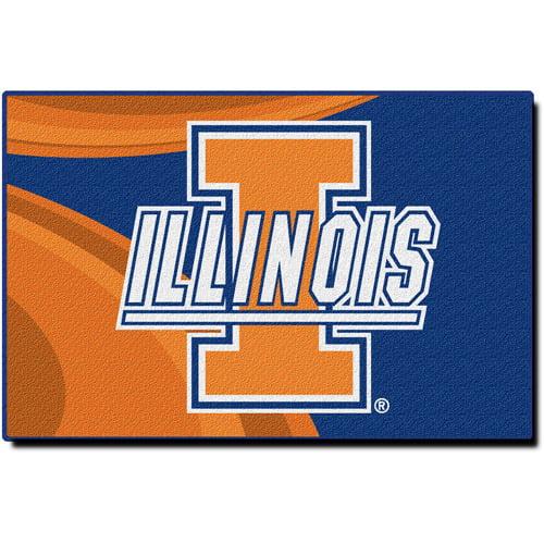 "NCAA Illinois Fighting Illini 39"" x 59"" Rug"