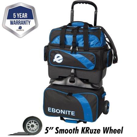 Ebonite Equinox 4 Ball Roller Bowling Bag-