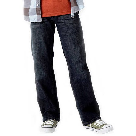 Signature by Levi Strauss; Co.; Boys' Boot Cut Fit Jeans