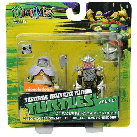 Teenage Mutant Ninja Turtles Shredder (Teenage Mutant Ninja Turtles Minimates Vision Quest Donatello & Battle - Ready Shredder Minimates)