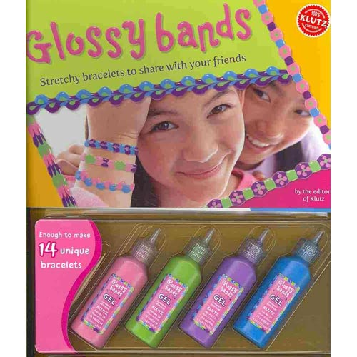 Glossy Bands: Stretchy Bracelets to Share With Your Friends