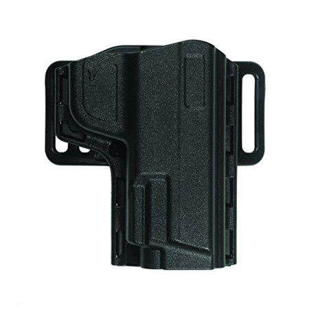 Uncle Mike's Tactical Reflex Open Top Holster, Size 9, Right Hand, Black - image 1 de 1