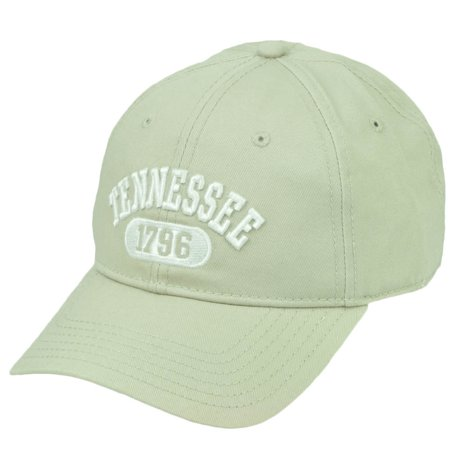 Tennessee 1796 Beige The Volunteer State Relaxed Wash Hat Cap USA Adjustable - Tennessee Volunteers Hats