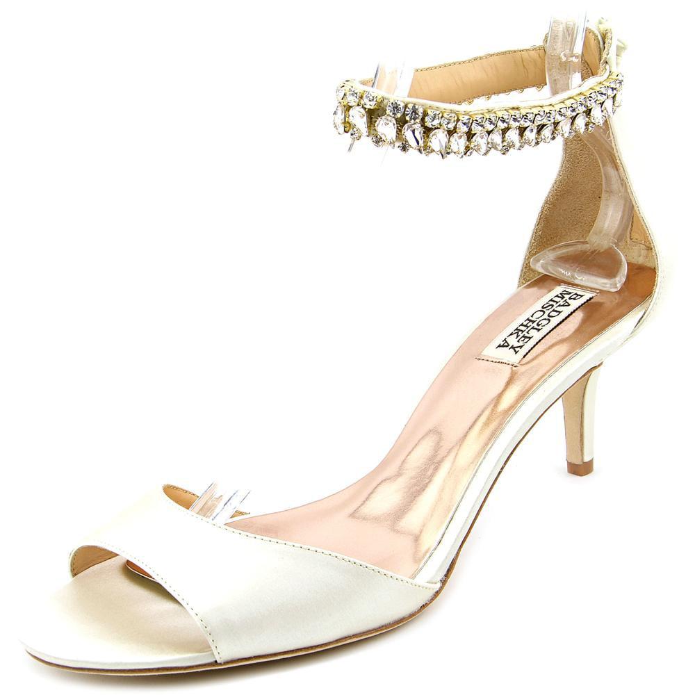 Badgley Mischka Angel Women Open Toe Canvas Sandals by Badgley Mischka