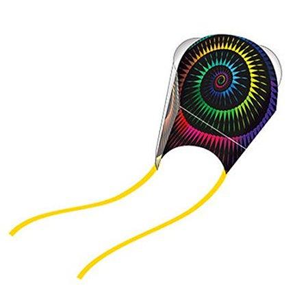 WindNSun Nylon Frameless Pocket Kite - Spirals