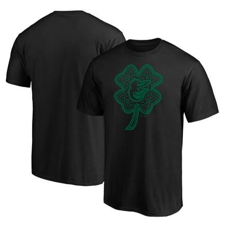 Baltimore Orioles Fanatics Branded St. Patrick's Day Celtic Charm T-Shirt - Black