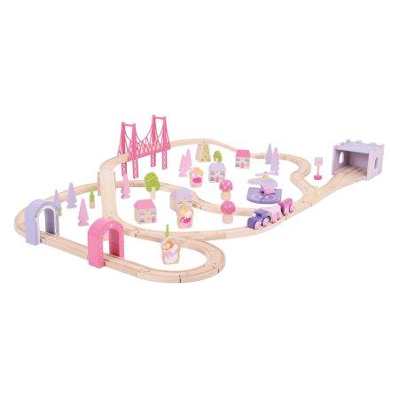 BigJigs Rail Fairy Range BJT023 Fairy Town Train Set - Fairy Train Set