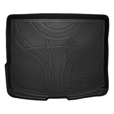 smartliner all weather cargo liner floor mat black for 2013-2018 ford escape / 2015-2019 lincoln mkc