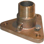 Groco IBV-F Bronze Flanged Adaptor for In-line Ball Valve to Through-Hull