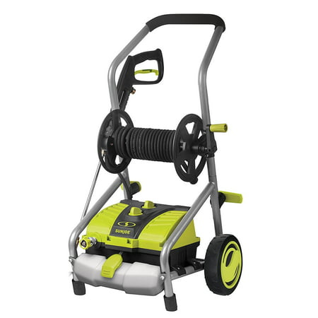 Sun Joe SPX4001 Electric Pressure Washer | 2030 PSI Max | 1.76 GPM | 14.5-Amp | Pressure Select | Hose Reel