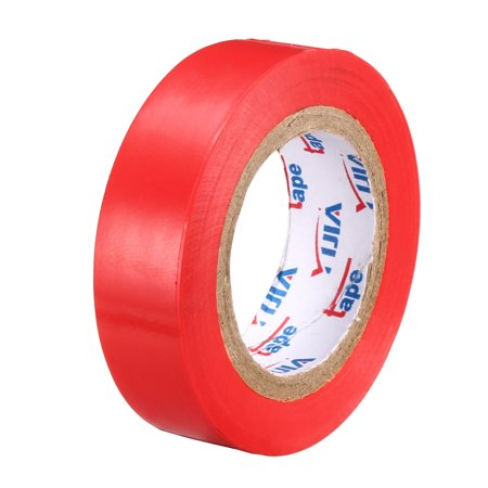 """Insulating Tape ,PVC Electrical Tape,  Single Sided, 5/8"""" Width, 39ft Long, 6 mil Thick, Red - image 4 of 4"""