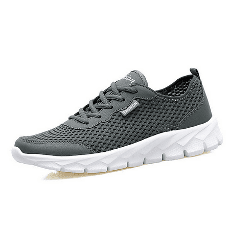 Running Sneakers (Men's Fitness Shoes Walking Sneaker Workout Shoes mesh Running Shoes Athletic Lightweight Casual Sports)