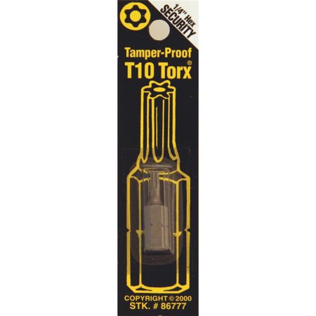 Best Way Tools T10 Tmpr Security Bit 86777