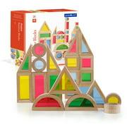 Jr. Rainbow Blocks - 40 pc. set