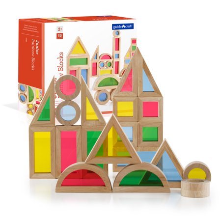 Jr. Rainbow Blocks - 40 pc. set