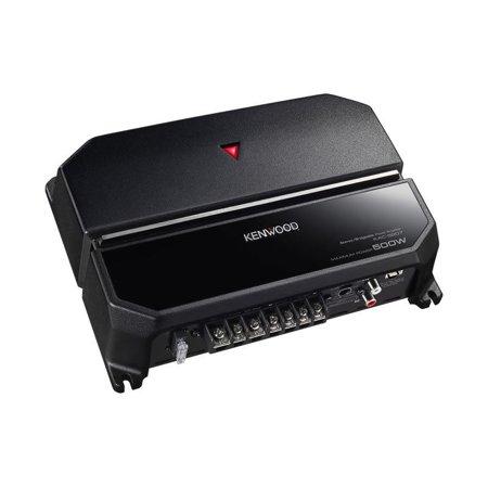 NEW Kenwood KAC-5207 500W 2-Channel Class-AB 2-Ohm Stable Car Audio Amplifier Panavise Car Audio