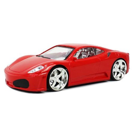 Ferrari F430 Electric RC Car SRV Series 1:24 RTR (Colors May Vary) LED Wheel