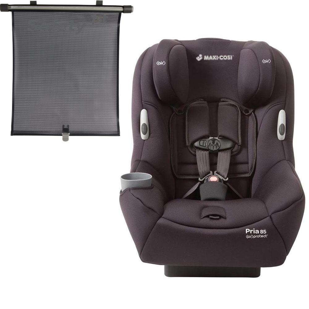 Maxi Cosi Pria 85 Convertible Car Seat with BONUS Retractable Window Sun Shade by Maxi-Cosi