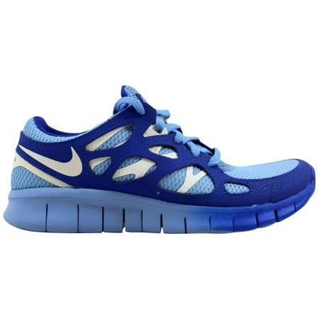 27e8ac8bf813 Nike - Nike Women s Free Run 2 EXT Light Blue Sail-Hyper Blue536746 ...