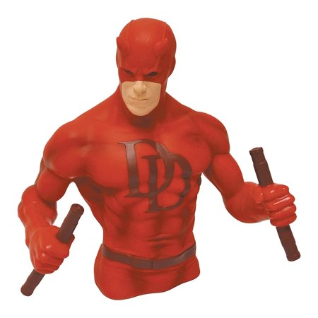 Daredevil Bust Bank  Red  Based On The Hit Netflix Series And Marvels Acclaimed Comic Book  By Monogram