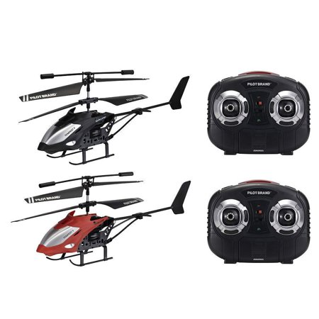 Remote control Helicopter Tempest II Wireless Indoor 2pk Helicopter RED/BLACK